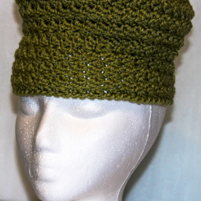 Pill Box Hat - Fern Green