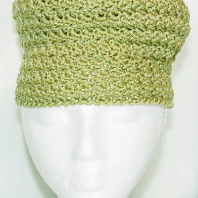 Pill Box Hat - Spring Green