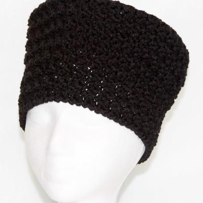 black hat-front